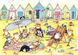 Crazy Cats at the Seaside - Linda Jane Smith