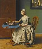 Dutch Girl at Breakfast