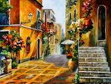 Leonid Afremov- The Sun of Sicily