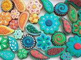 Yummy Paisley Cookies