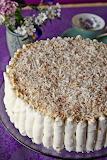 Granny's Boozy Raffaello Cake