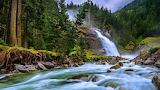 Krimml-Waterfalls-in-Salzburg-National-Park-Hohe-Tauern-Austria