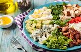 ^ Cobb salad