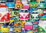 Volkswagon car collage