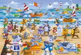 doggy day on the beach