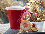 Red Cup Cookie Ornament