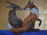 Jackie Morris The space between the hare and the fox