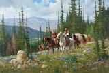 Painting cowboys