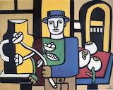 Fernand Léger, L'Homme au chapeau bleu, 1937