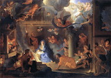 Adoration of the Shepherds ~ Charles Le Brun