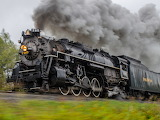 Lima Super Power, Nickel Plate RR. 765 at speed