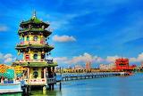 Lotus Lake, Kaoshiung, Taiwan...