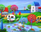 Summer-art-by iwona lifsches