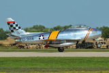 "F-86 Sabre ""Smokey"" takes off at Oshkosh 2011"