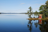 Summer Sweden lake