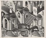Escher - Concavo e convesso (1955)
