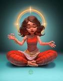 Yoga Girl by Hiloria