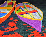 Dinghy, Shelly Burge (photo Quilt Inspiration)