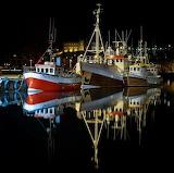 Quiet night at Hafnarfjordur harbour