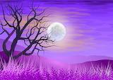 Lilac Landscape