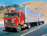 Semi Truck Peterbilt COE