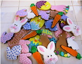 Bright Easter Cookies