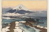 Фудзи со стороны озера Кавагути