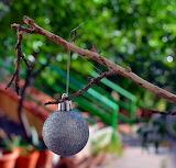 Christmas Ornament Outside