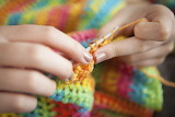 ^ Crocheting