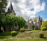 Castle Park, Rochefort-en-Terre, Britanny