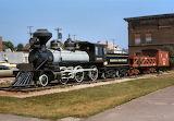 Duluth & Iron Range Railway #3 At Two Harbors, MN - 1976