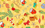#Christmas Candy Wallpaper