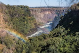 Victoria Falls Bridge over the Zambezi River