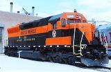 Train Locomotive Great Northern SD45 #400