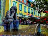 Fountain, Sæby Denmark
