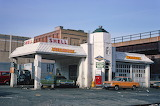 NEW YORK 1970S SERVICE STATION