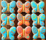 Butterfly cookies @ My Cookie Clinic
