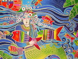 mermaid, Laurel Burch