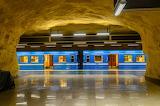 Metro Station in Stockholm-Sweden