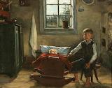 Helena Westermarck, Kun äiti on poissa, 1891
