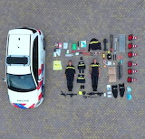 Politie Kit Scale 1 to 1