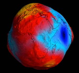 global model of the Earth's gravity field and of the geoid