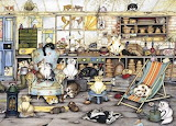 Potting Shed Cats