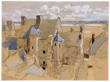 Mont St. Michel by Dugald Sutherland MacColl