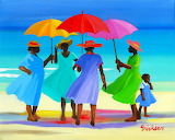 women on the beach, Shari Erickson