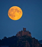 St Michael's Mount Supermoon, Kernow