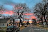 Sunset Missoula Montana neighborhood
