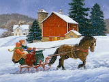 Christmas Art by John Sloane...