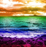 Saffron Sky, Rainbow Sea