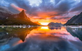 Norway sunset